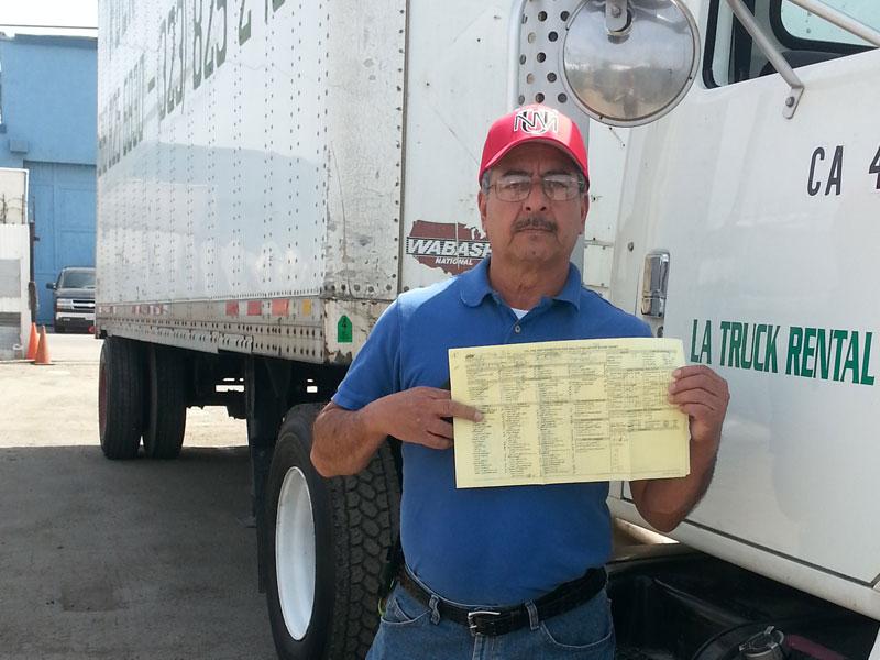 Trucking School in LA