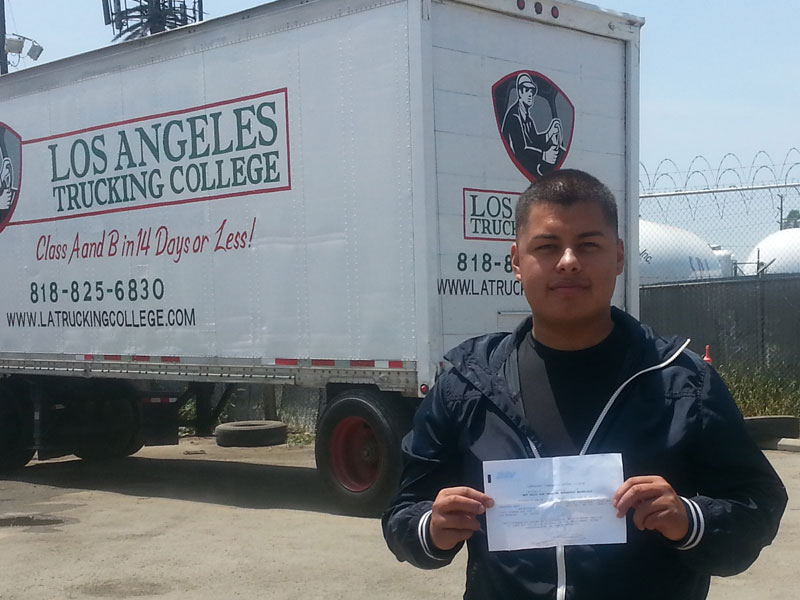 Trucking College in Los Angeles